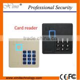N81-K smart card keypad card reader wiegand26/34 RS485 IP65 card reader keyboard card reader 125KHZ ID 13.56KHZ IC card reader