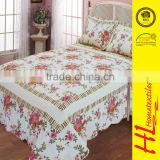 Welcome ODM active home printing quilted bedspreads quilt blankets , summer quilt set