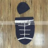 Football cocoon baby photo prop