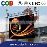 waterproof rental p10 outdoor led display screen