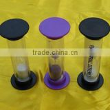 Small Sand Timer Hour Glass for Promotional Gift with Customized Logo                                                                         Quality Choice
