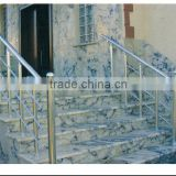 outdoor aluminum stainless steel removable stair railings/handrail balustrades/porch rail