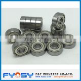 inch deep groove ball bearing 1658ZZ 1658-2RS 33.337X65.087X17.462MM for car
