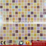 IMARK Gold Star Glass Mosaic Tile Mix Quartz Glass Mosaic Tile Kitchen Tile Bathroom Tile Wall Art Mosaic bathroom mosaic tile
