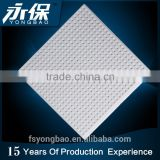 Perforated gypsum board mineral fiber acoustical ceiling tiles prices