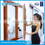 Aluminum Window and door with Wood clad and lift-sliding glass door for home from broad factory
