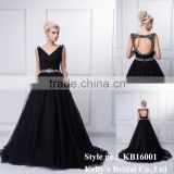 Red /black wholesales lace long mermaid traditional wedding or sexy party floor length formal anti-wrinkle evening dresses