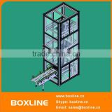 Industrial warehouse material elevator lift
