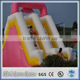 2015 plastic play balls inflatable vagina slide for adults