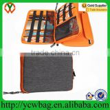 Universal Double Layer Travel Gear Organizer / Electronics Accessories Bag / Battery Charger Case