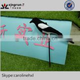 Wholesale Flocked Plastic Magpie Hunting decoys Bird Decoys for Hunting