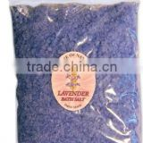"Bath Salts ""Lavender"", bag, 250g. Paraben Free. Made in EU. Private Label Available."