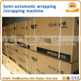 Semi-automatic balers machine handheld pallet strapping wrapping machine
