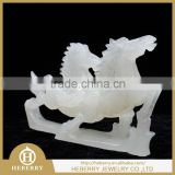 unique jade animal sculptures shiny polished best gift to friends