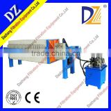 Dazhang High Efficiency Good Price Hydraulic Chamber Filter Press Machine For Industrial Sand