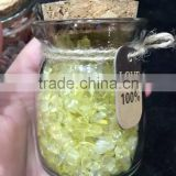 crushed tumbled stone beads Lucky Crystals Craft Product/romantic magic Meteor Crystal wishing bottle