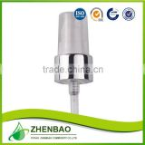 Personal care cream pump,bottle pump,aluminum gold color cream pump from Zhenbao Factory