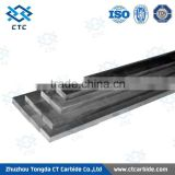 Zhuzhou tungsten carbide flat bars/supply cemented carbide strips for cutting tools/yg6 carbide strips