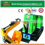 Popular kids mini excavator/kids coin operated game machine/kids ride on toy excavator for sale