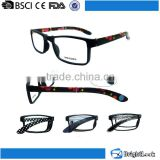 2015 New trendy new model cheap italian eyewear brands computer wholesale foldable reading glasses
