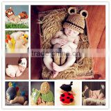 Cute Pcs Newborn Girl Boy Newborn Baby Snail Knit Boutique Crochet Clothes Yellow Photo Prop Costume
