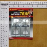 USEFUL TRAP FOR MOUSE/HOUSEWARE NECESSITY FOR CATCHING MOUSE/2PC METAL MOUSE TRAP(9.7*5.2cm)
