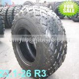 JINTONGDA,WINDRUNNER brand good quality tyre factory R3 Pattern 23.1-26 Backhoe tire
