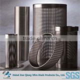 Reverse rolled welded wedge wire johnson screen pipe