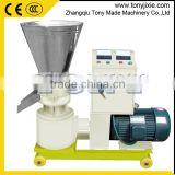 Factory directly sale flat die feed pellet press/poultry feed pellet mill/dog food pellet making machine