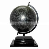 Educational Globe with metal base, Rotating World Globe, Unique World Globe, Table World Globe,