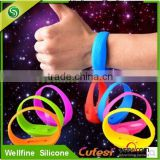 LED light veryfit smart Silicone Bracelets specialized for party and vocal concert field