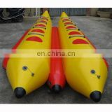 inflatable banana boat, inflatable boat