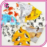 Wholesale baby cap soft fashion cotton sleeping hat cute cartoon printed baby cap