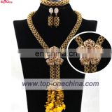 Nigeria bridal necklace jewelry set\garments accessories jewelry\african coral bead jewelry