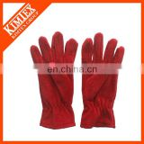 Cheap customized polyester fleece gloves for winter