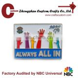 Diseny factory custom metal promotion pin/ custom pin supplier