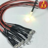 20CM 3mm 5mm 8mm 10mm round through hole Led Diode Flashing RGB LED Pre wired LED 12V