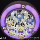 hot sale crystal chandelier,  crystal ceiling LED  lamps with remote control, bluetooth,MP3