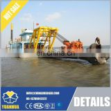 1200m3 hydraulic cutter suction sand mining dredger