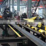 SUNRISE CNCAutomatic Angle Punching Marking shearing Cutting Rotary Machine Angle Steel Tower Line For Steel Structure Industry