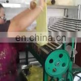 factory price cold rice noodle liangpi snack cutting cutter kelp cutter  cold noodle cut to strips  machine