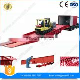 7LYQ Jinan SevenLift steel wholesale yard use manual easy operation 10 ton used truck container loading dock ramp
