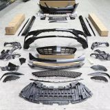 Km body kit for MB S-class W222 upgrade S63 AMG bumper auto parts front bumper rear bumper side skirts and exhaust tips