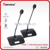 YARMEE YC836 table stand microphone conference room audio video conferencing system