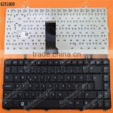 Original laptop keyboard for DELL Studio 1555 1557 BLACK Layout Nordic