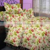 bedding fabric 100% polyester bed sheet set luxury bedding set home textile printed bedroom set