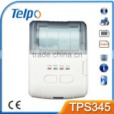Telpo TPS345 Mini Mobile Thermal Printer Line Printing For Restaurant Food Delivery Transportation
