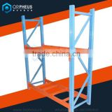 Food company racking warehouse storage system metal rack shelf heavy duty 2 tier Warehouse Pallet Racking System