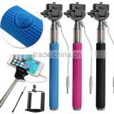 OEM Fashion Universal Long Length Extendable Handheld Remote Shutter Stick Selfie Monopod for smartphone
