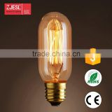 Energy Saving Wholesale Modular T9-135 110-240V 40/60W 28.5*14.5mm tubular hairpin style edison bulb